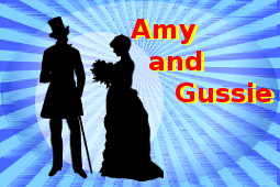 Amy and Gussie
